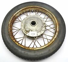Zündapp 175 S ´56 - Front wheel rim at the front