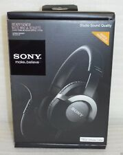 New Sony DR-ZX701IP Studio Monitor Headphones w/ Mic and Remote iPod/iPhone/iPad