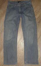 VANS Boys Size 12 Denim Blue Wash Straight Leg Jeans
