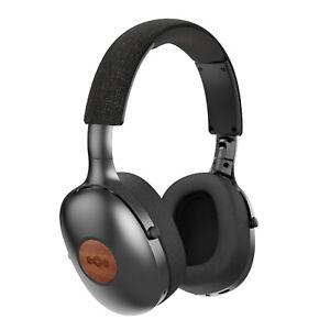 House of Marley Positive Vibration XL Bluetooth Over Ear Headphones - Black