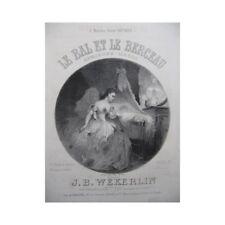 Wekerlin J. B. the Ballroom & Cradle Singer Piano ca1865 Sheet Music Sco