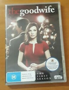 The Good Wife Season 1 DVD R4 New Sealed Unopened CBS Paramount 2009