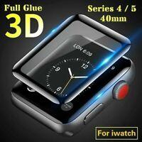 3D Apple Watch Series 4 / 5 40mm Panzerfolie Schutz HD Glas iWatch Displayschutz
