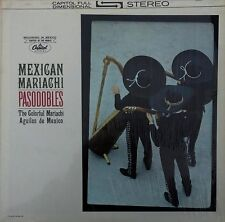 MARIACHI AGUILAS -MEXICAN MARIACHI -PASODOBLES- CAPITOL OF THE WORLD - STEREO LP