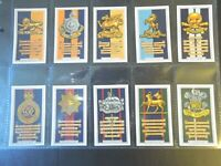1939 Gallaher ARMY BADGES military history set 48 cards Tobacco Cigarette card
