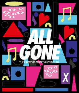 NEW La MJC Nina Chanel All Gone 2019 The Finest of Street Culture Hardcover Book
