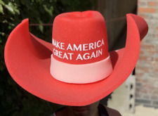 HUGE MAGA Cowboy Hat Make America Great Again Donald Trump GIANT MAGA Foam Hat
