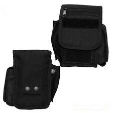 schwarze Gürteltasche mit 3 Fächern Polizei Täschen für Molle Einsatzgürtel