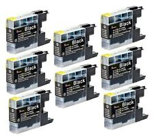 8 NON-OEM BLACK INK CARTRIDGE BROTHER LC-79 LC-79BK MFC-J6910DW MFC-J5910DW