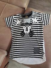 Mickey Mouse T-Shirt in schwarz/weiß in Größe M