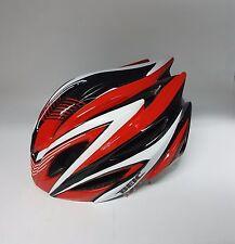 Beic Mars Road Bike Helmet S/M 54-57cm Black Red with LED Rear Light