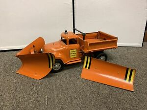 1957 Tonka No. 44 3-in-1 Hi-Way Service Truck Snow Plow Nice Original Condition
