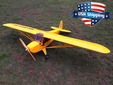 91in 1/4 Scale 20cc-30cc Piper J3 Cub RC Gas/Nitro/Electric Airplane ARF Kit