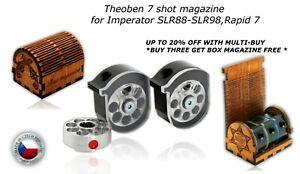 Theoben 7 shot magazine for Imperator, SLR88, SLR98, Rapid 7