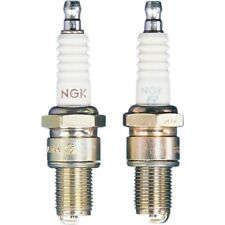 Pair of NGK Iridium Spark Plugs ATV Dirtbike 14mm Thread Solid Stud (2) BR9EYA