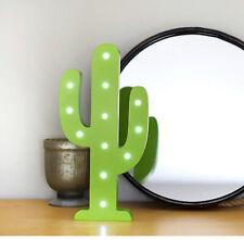 LED Niños Iluminación Cactus Autónomo Luz LED Batería Dormitorio Infantil