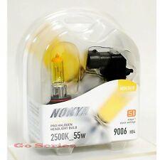 Nokya 9006 Hyper Yellow Headlight Fog Light Halogen Bulb 2500K S1