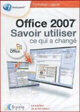 """*CD ROM """"SAVOIR UTILISER OFFICE 2007"""""""