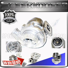 """T72 T4 FLANGE Turbo Charger Twin Scroll Oil Cooled 4"""" V-band Inlet 2.5"""" Outlet"""