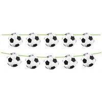 6m Football Shapes Bunting - Boys Birthday Party Room Decoration