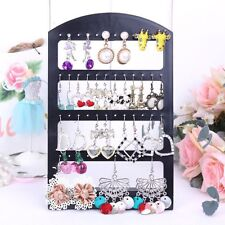 24 Pair Earring Display Stand Organiser Holder Shop Stud Jewellery Box Travel