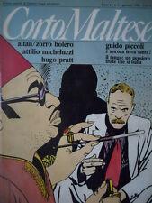 Corto Maltese 1 1986 - Attilio Micheluzzi Guido Crepax Hugo Pratt    [G.142]