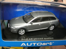 AUTOart 1/43 AUDI A6 QUATTRO ALLROAD GRIS METAL ref 50301 !!