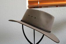 Akubra Cattleman Cowboy Hat Bran Size 7 (56cm)