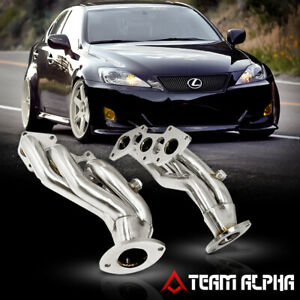 Fits 2006-2019 Lexus IS250/IS350 XE20 [STAINLESS STEEL] Exhaust Manifold Header
