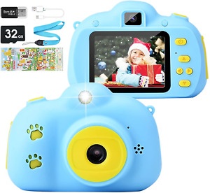 Kids Camera, Kids Digital Camera 12.0MP Rechargeable Childrens Camera with 2.4