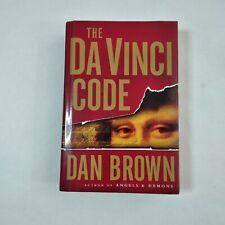 The Da vinci Code By Dan Brown Hardcover 2003 1st Edition