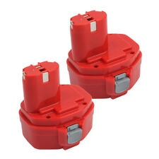 14.4 V Ni-CD 2.0Ah 2PACK Battery for MAKITA 1420 1433 192600-1 1434 193985-8