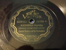 78 Rpm-Carlos Molina y su orquesta en 1932 Victor 24159