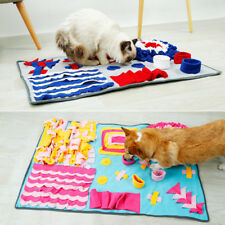 Pet Snuffle Mat Dog Cat Food Mat Decompression Nosework Training Blanket P139