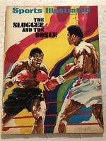 1971 Sports Illustrated MUHAMMAD ALI Joe FRAZIER The Boxer vs Slugger NEWSSTAND
