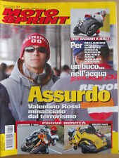 MOTOSPRINT n°51 2002  Test Kawasaki Z 1000 Ducati 749 S - Valentino Rossi  [P70]