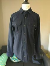 Apolis Global Citizen Wool Utility Jacket Shirt - Indigo - XS