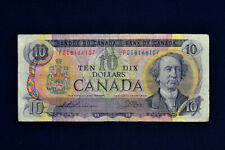 Ten dollars canadian bill 1971 Ottawa.