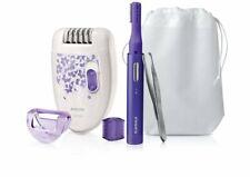 Depiladora recortadora inalámbrica mujer Philips,2 velocidad,pinzas depilar,etc