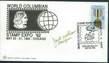 USA (1992) 'WORLD COLUMBIAN STAMP EXPO' Chicago Signed by Designer  [8101]*