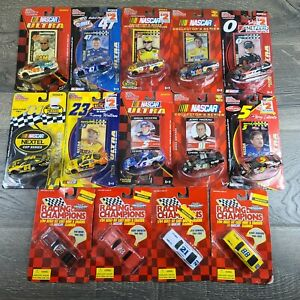 Lot Of 14 Racing Champions '03 & '04 Nascar Collectors Series Diecast 1/64 Scale