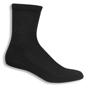 Dr Scholls Mens Diabetes Circulatory Ankle Socks 4-Pair Size 7-12 Large Black