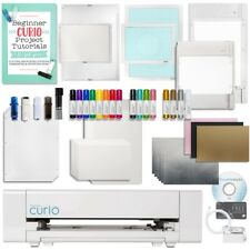 Silhouette Curio Digital Crafting Machine with Large Base, Etching, Sketching, E