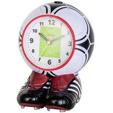 Atlanta 1181 Wecker Kinderwecker Fußball Olé Olé rot Fußballwecker für Kinder