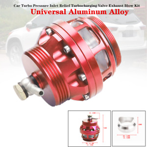 Universal Car Turbo Pressure Inlet Relief Turbocharging Valve Exhaust Blow Parts
