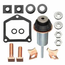 Starter Solenoid Repair Rebuild Kit Plunger Contacts Set For Toyota Subaru Honda