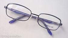 Cerruti Designerbrille Damen Brille NEU 53-17 blau Metall Materialmix size M