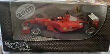Hot Wheels Racing 1/24 Ferrari F1 GP 2000 Michael Schumacher Diecast Model Car