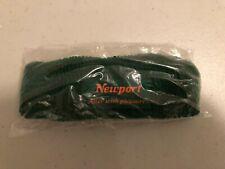 New Vintage 1990's Newport Cigarettes Green Headband Armband Sweatband Nos