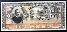 MEXICO BANKNOTE 1 Peso, P.S860 AU 1915 (Ejercito Constitucionalista)